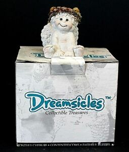 Vintage-1994-Dreamsicles-Collectible-Figurines-Signature-034-Happy-Feet-034