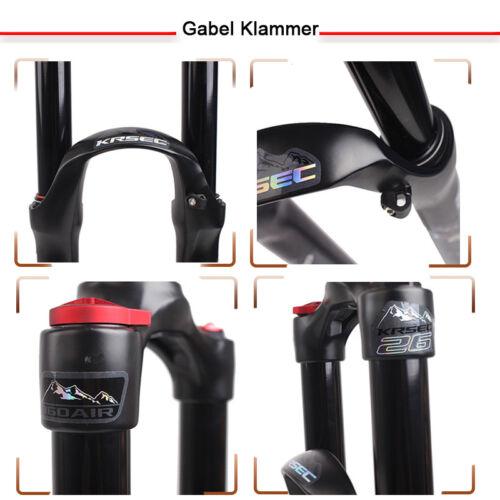 "1-1//8/'/' 26/""// 27.5/""//29/"" Scheibenbremse Federgabel MTB Fahrrad Gabeln//Gabel"