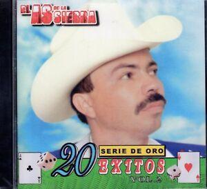 El-As-De-La-Sierra-20-Exitos-de-Oro-Vol-2-CD-New-Sealed