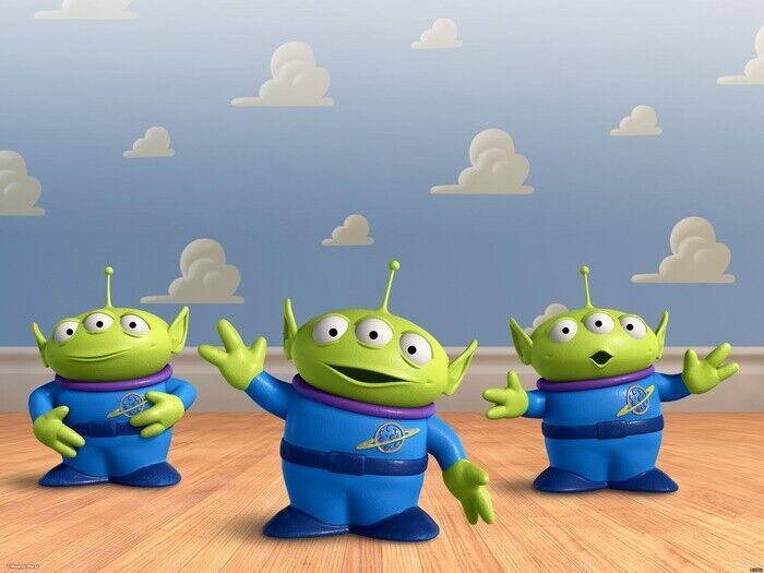 Jeff Pidgeon Toy Story Alliens Movie Wall Print POSTER AU