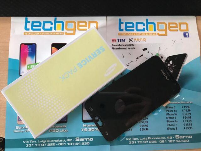 Display Lcd Touch Schermo Originale per Samsung Galaxy J3 2016 SM-J320FN NERO