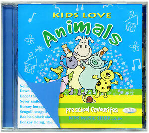 Kids-Love-Animals-Favourite-Animal-Songs-CD-NEW-amp-WRAPPED-from-PUBLISHER