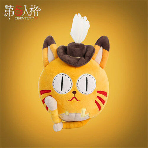 Whiskers Follower Pet Orange Cat Cosplay Plush Toy Doll beard Mr Identity V Mr
