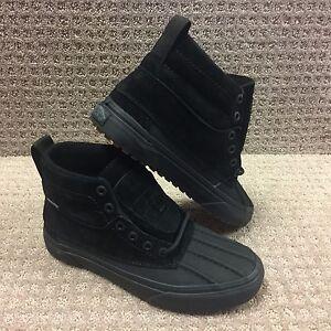 vans men s shoes sk8 hi del pato mt mte black black ebay ebay