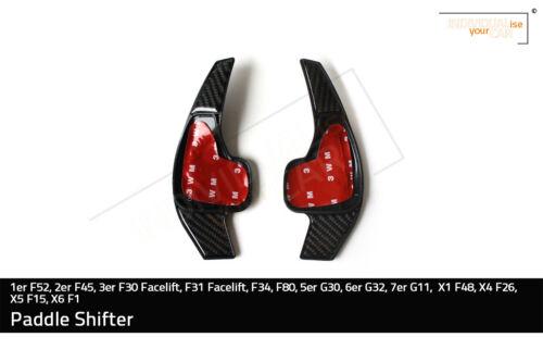 2er f45 Pagaie Shifters carbonlook pour 1er f52 f31 Faceli... 3er f30 Facelift