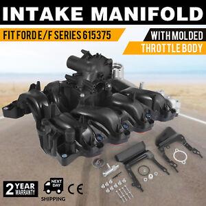 Set Engine Intake Manifold Upper 615-375 fits Ford F-150 4.6L 7L3Z-9424-F Look