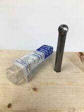 """Standard Cut 5 D-4 Ball Shape Carbide Rotary Burr Files 7//16/"""" x 1//4/"""" Shank"""