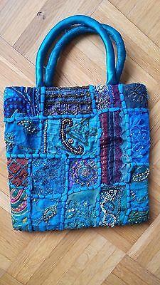 Damentasche + Handtasche + Abendtasche + Stickerei + Mädchentasche + Bunt +