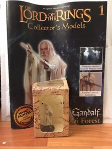 LORD OF THE RINGS COLLECTION ISSUE 1 GANDALF EAGLEMOSS FIGURE   MAG DAMAGED - Market Harborough, Leicestershire, United Kingdom - LORD OF THE RINGS COLLECTION ISSUE 1 GANDALF EAGLEMOSS FIGURE   MAG DAMAGED - Market Harborough, Leicestershire, United Kingdom