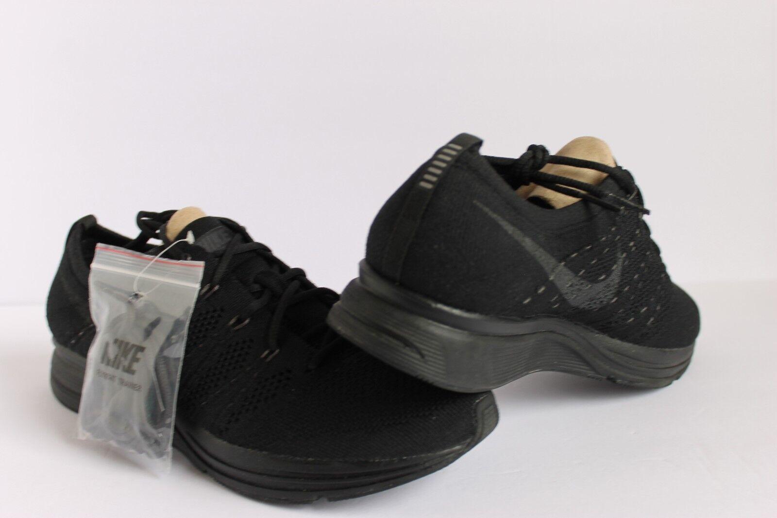 Nike flyknit trainer drei schwarze anthrazit männer 8,5 laufschuh laufschuh laufschuh [ah8396-004] 8d826d