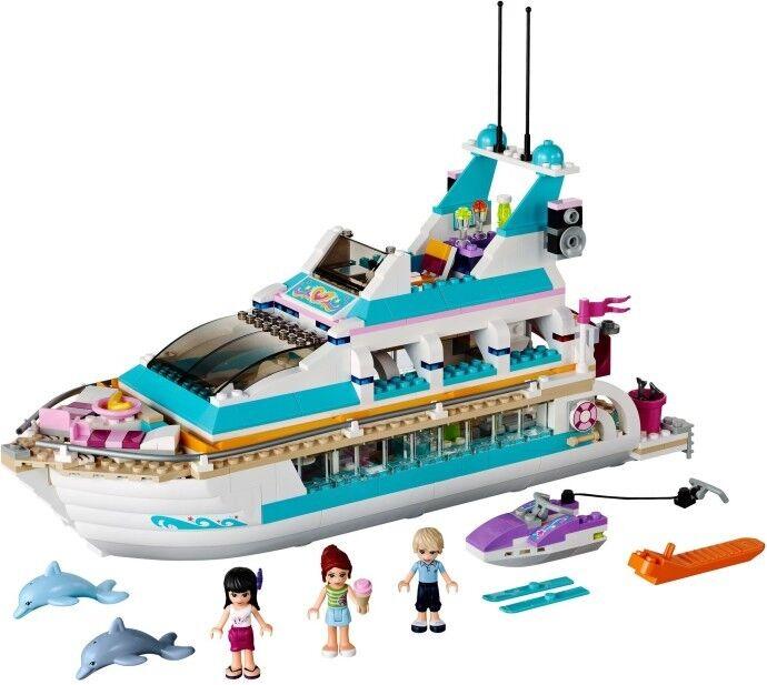 NEW LEGO LEGO LEGO FRIENDS 41015 DOLPHIN CRUISER YACHT RETIROT SET 69e6bb