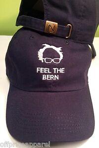188b94775ec87 Feel The Bern Bernie Sanders 2020 Hat Cap DEMOCRATIC Presidential ...