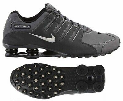 New NIKE Shox NZ Premium Athletic Sneakers Running Shoes Mens gray all sizes | eBay