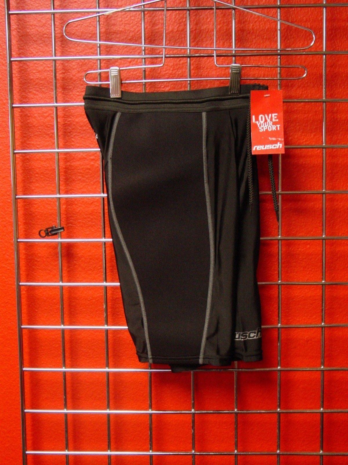New Reusch Soccer Goalie Neoprene Compression Shorts CS Short Medium 3718505S