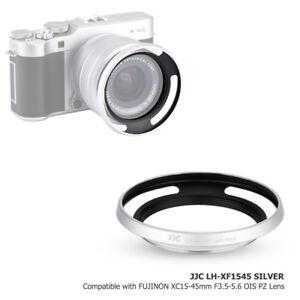 JJC-Argent-Metal-Lens-Hood-pour-Fuji-X-A5-X-T100-lens-FUJINON-XC15-45mm-F3-5-5-6