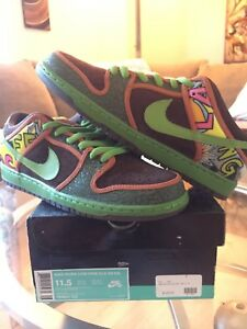 buy popular 21317 27ea0 Image is loading Nike-Dunk-Low-PRM-DLS-SB-QS-Size-