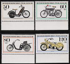 1983 Germany Berlin Set Sc#9NB198-201 Mi#694-7 Margins Mint Never Hinged VF