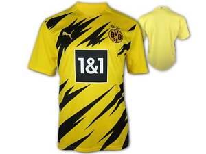 Puma-Borussia-Dortmund-Heim-Trikot-20-21-BVB-09-Home-Shirt-Fan-Jersey-Gr-S-3XL