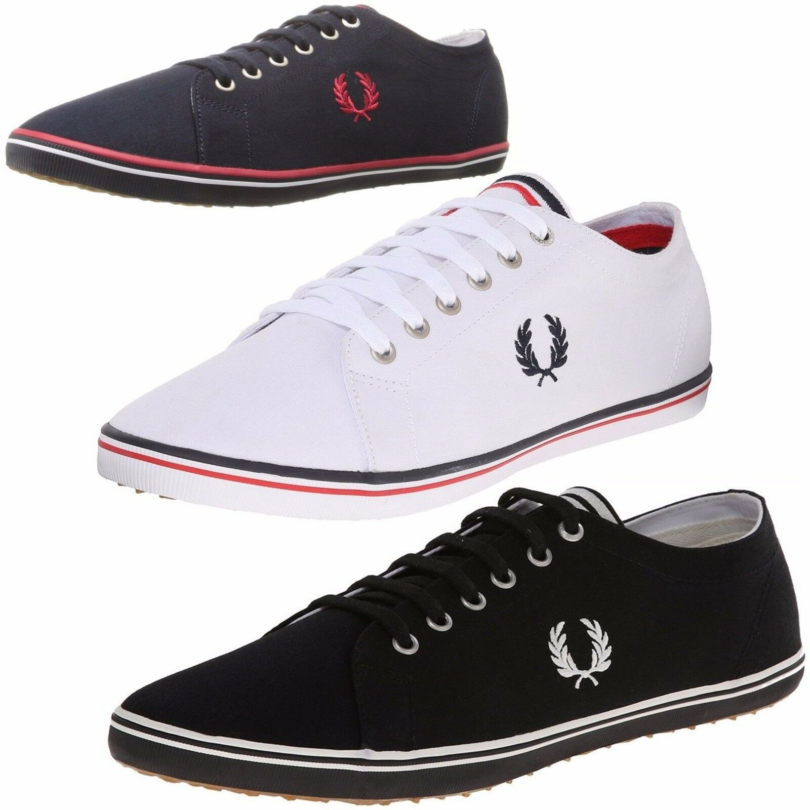 Fred Perry Men Casual Shoes Kingston