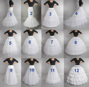 Petticoat-for-Wedding-Crinoline-Slip-Underskirt-Bridal-Dress-Hoop-Vintage-Slips