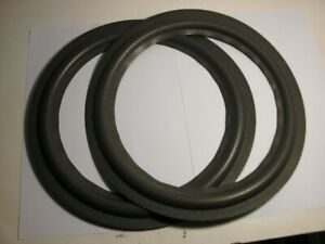 """One pair of  12""""  foam surrounds for Ohm spkrs.eg  See list."""