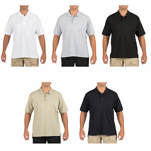 05c9af2021207c 5.11 Tactical Men's Jersey Short-Sleeve Polo T-Shirt Pockets, Style ...