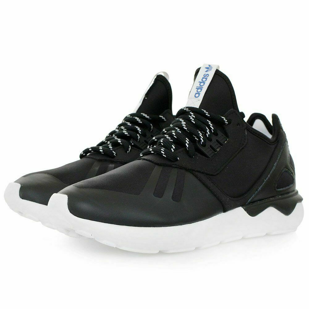 Adidas Tubular Runner Trainers- Black UK 8 EU 42 JS54 18