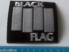 PUNK ROCK HEAVY METAL MUSIC SEW ON / IRON ON PATCH:- BLACK FLAG USA PUNK