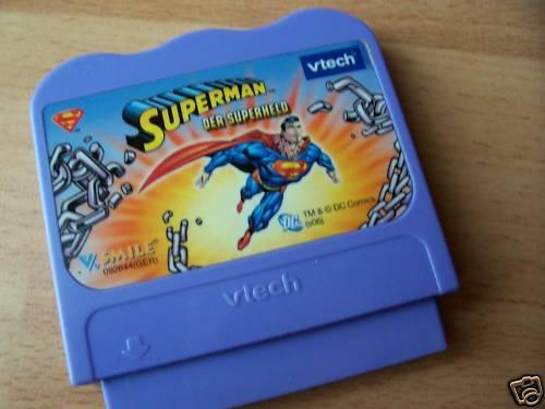 V-Tech Vtech V.SMILE Lern Kinder Spiel Superman Der Superheld Lernspiel