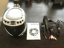 EMERSON  (GQ265) Portable CD+G KARAOKE PLAYER Bundle w/ Built in Speaker