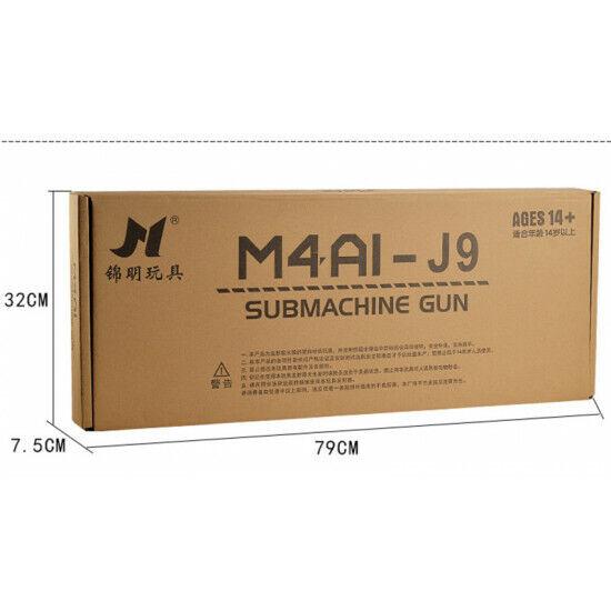 Pistola De Agua SKD Gel Blaster m4 A1