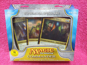 ITALIAN-Magic-MTG-2011-Commander-C11-Sealed-Mirror-Mastery-Deck-IT-the-Gathering