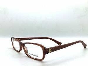 Emporio-Armani-Eyeglasses-EA-3016-5099-Striped-Brown-Size-53-16-135