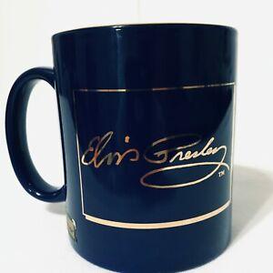 Elvis-Presley-Rare-Mug-Love-Me-Tender-22k-Gold-Culver-EPE-Cobalt-Limited-Edition
