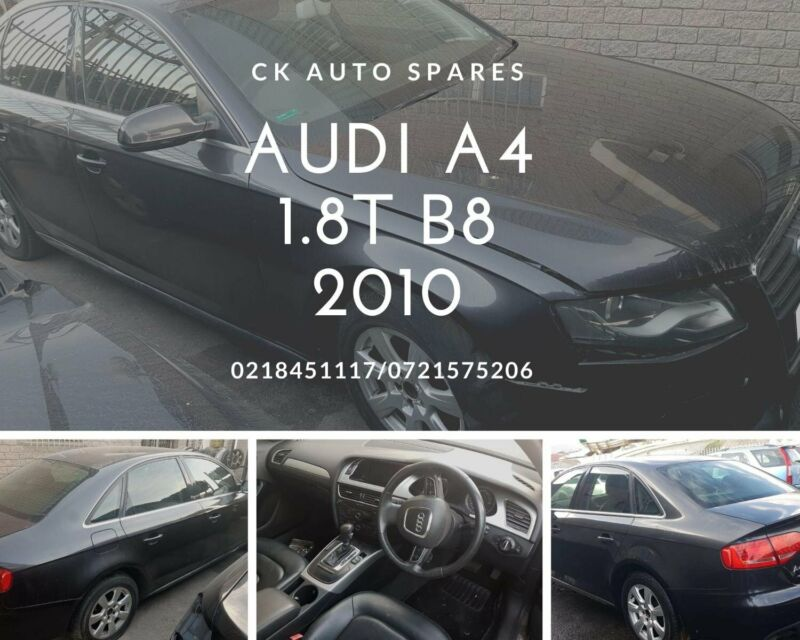 Audi A4 stripping for spares.