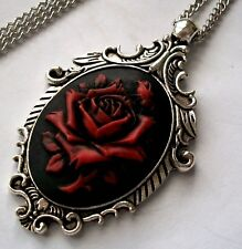 ON BLACK MOTHERS DAY GIFT M7 MOTHER AND CHILD CAMEO NECKLACE MOTHER/'S GIFT