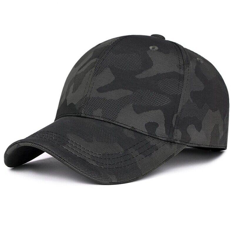 Herren Damen Außen Sport Tarnfarbe Baseball Kappen Militär Armee Hut Seja