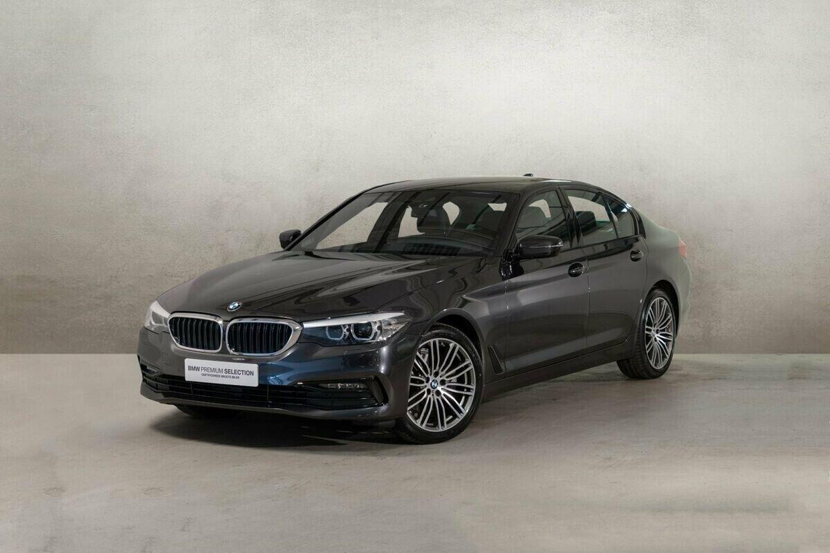 BMW 520d 2,0 aut. 4d - 565.000 kr.