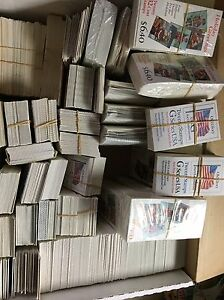 Booklets Of Postage Stamps. Nice Assortment $500.00 Face Value.