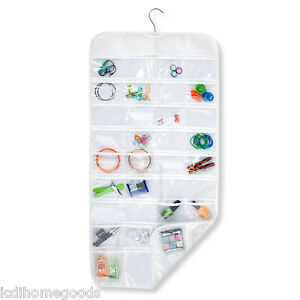 72 Pocket Hanging Jewelry and Hair Accessories Organizer SFT