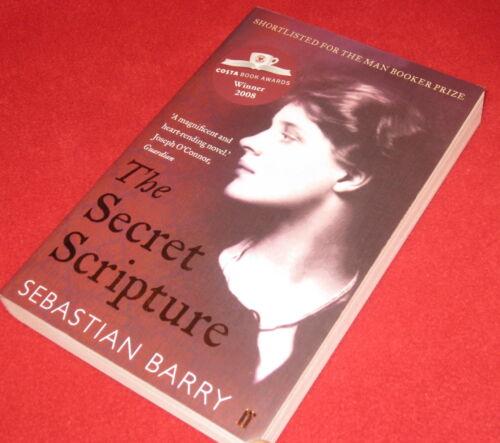 1 of 1 - THE SECRET SCRIPTURE ~ Sebastian Barry   Heart rending  EXTRAoRDINARY story LOVE