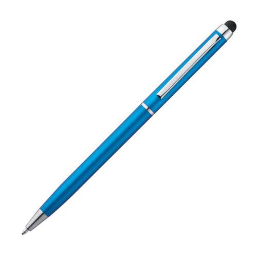 hellblau Farbe 5 Touchpen Kugelschreiber
