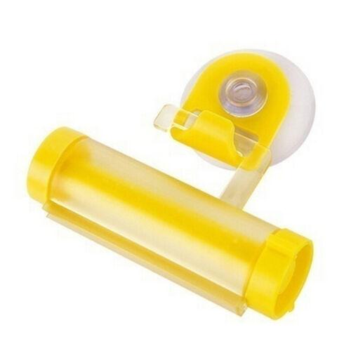 Plastic Rolling Tube Squeezer Zahnpasta Easy Spender Badezimmer Halter CJ