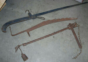 Orted Antique Cast Iron Balance Beam
