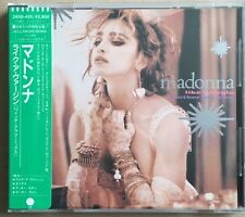 MADONNA Original 1984 Issue LIKE A VIRGIN & OTHER BIG HITS Japanese CD