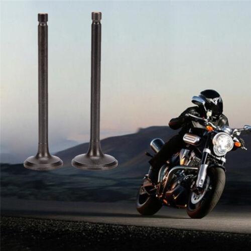 2pcs Motorrad-Motor Ventil Einlass auspuffventil für Suzuki GN125 GS125 Gut