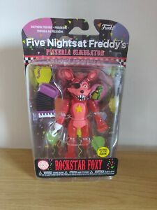 Rockstar Foxy Glow In The Dark Funko Five Nights At Freddy's Pizzeria Simulator