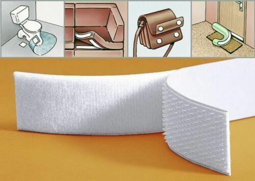2 Meter Klettband selbstklebend Klettverschluss Flauschband Hakenband Gp 1,45€//m