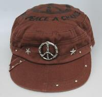 Hollywood Color Company give Peace A Chance designer Military Caps Cap