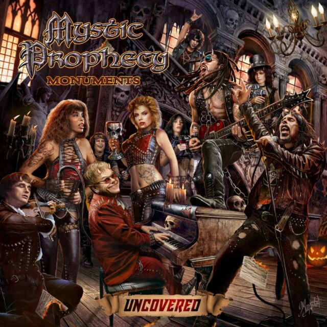 MYSTIC PROPHECY - Monuments Uncovered - Limit. Digipak-CD - 205999